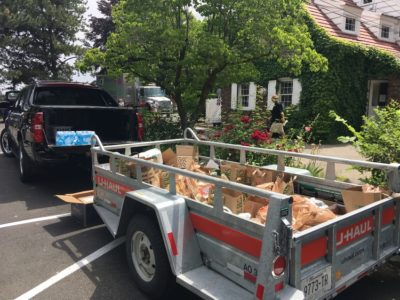 Veterans Coalition of Yakima food donation (6/8/18)